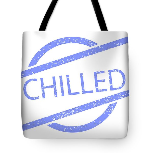 Chilled Stamp Tote Bag