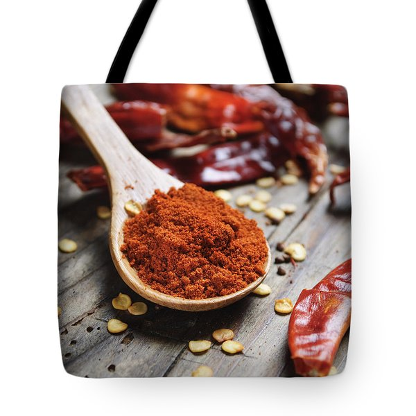 Chilli Peppers Tote Bag