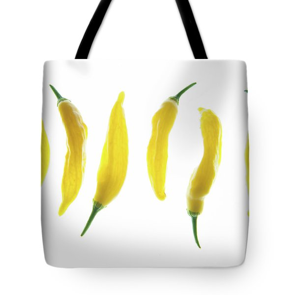 Chillies Lined Up II Tote Bag
