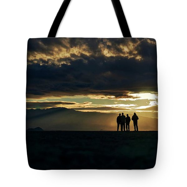 Tote Bag featuring the photograph Chilling In The Desert by Peter Thoeny