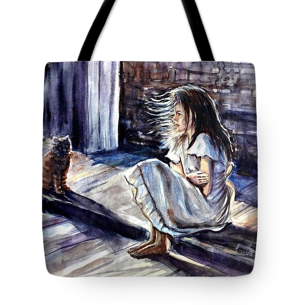 Chilling Night Tote Bag