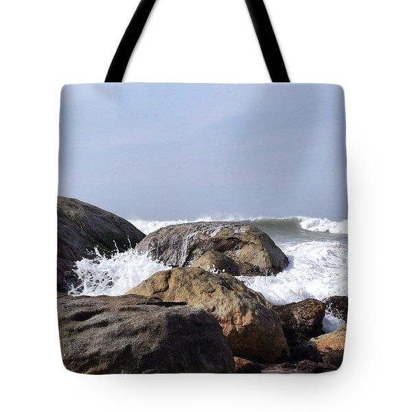 Three Oceans Meet Tote Bag