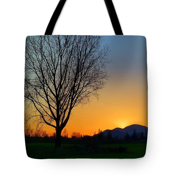 Chilliwack, British Columbia Tote Bag