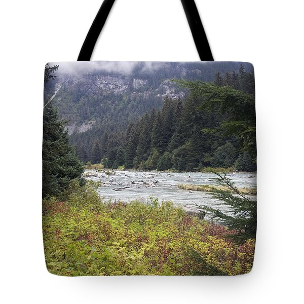 Chillkoot River 3 Tote Bag