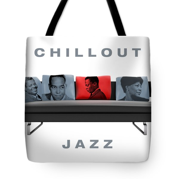 Chillout Jazz Tote Bag