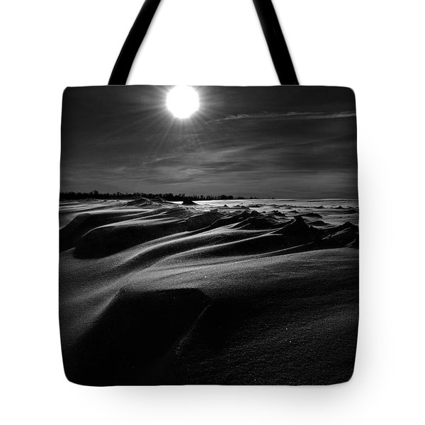 Chills Of Comfort Tote Bag by Empty Wall