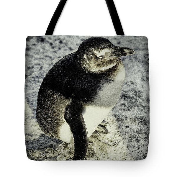 Chillypenguin Tote Bag by Chris Boulton