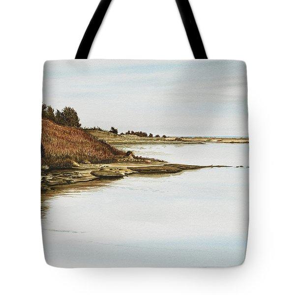 Chilmark Mv Stonewall Pond Tote Bag