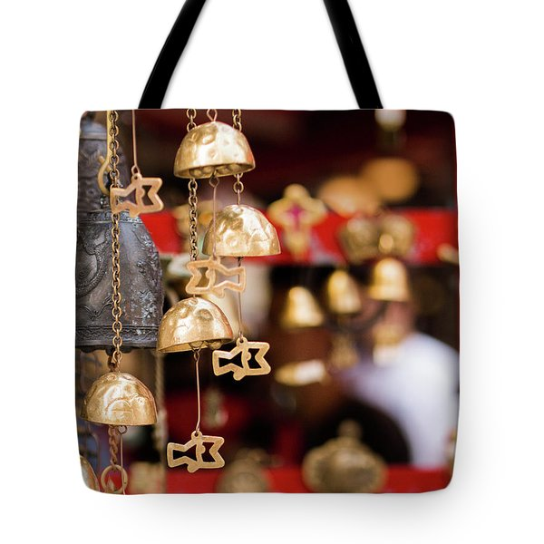 Chime Bell Tote Bag