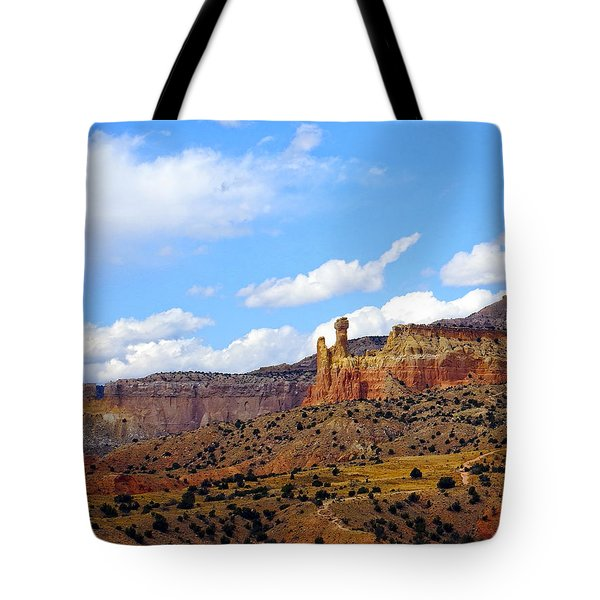 Chimney Rock Ghost Ranch New Mexico Tote Bag