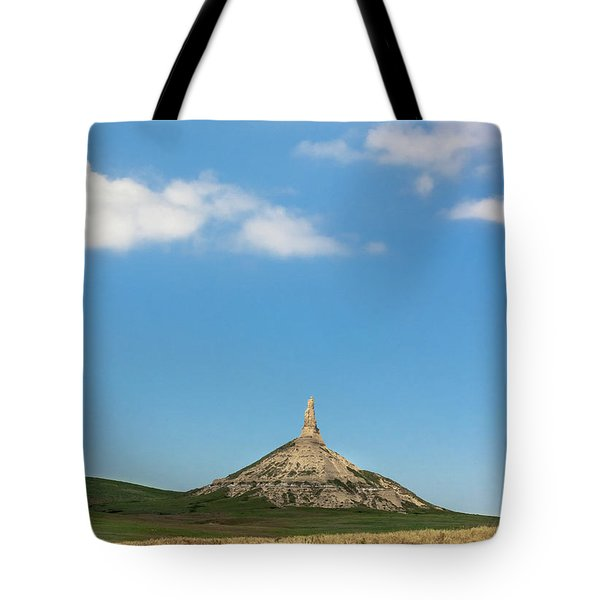 Chimney Rock Nebraska Tote Bag