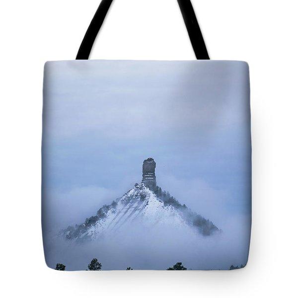 Chimney Rock Rising Tote Bag