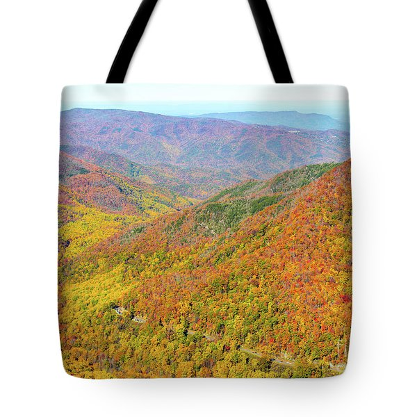Chimney Tops Summit I Tote Bag