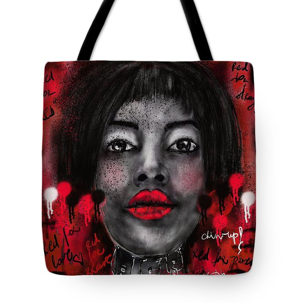Chin Up Tote Bag