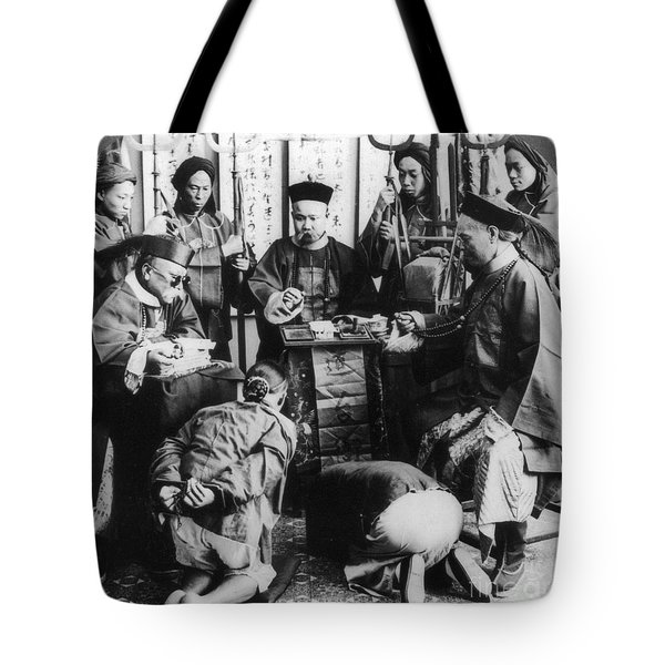 China: Boxer Trial, C1900 Tote Bag by Granger