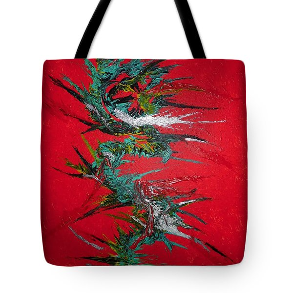 Tote Bag featuring the digital art China By Nico Bielow by Nico Bielow