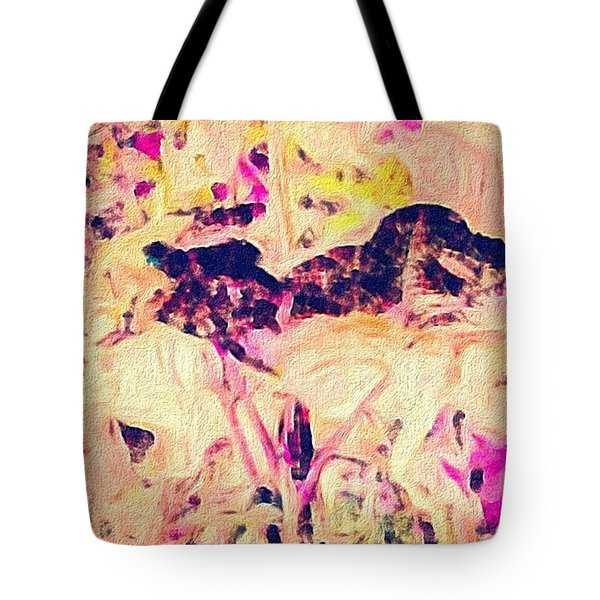 China Garden Tote Bag by William Wyckoff
