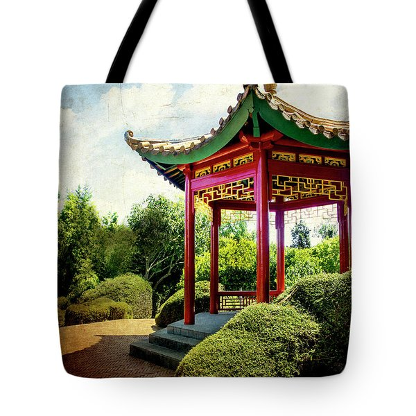 China In New Zealand Tote Bag