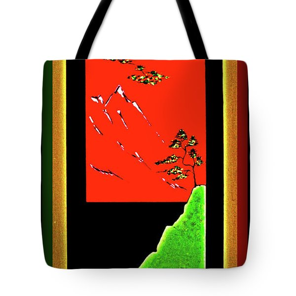 China Island Trees Tote Bag