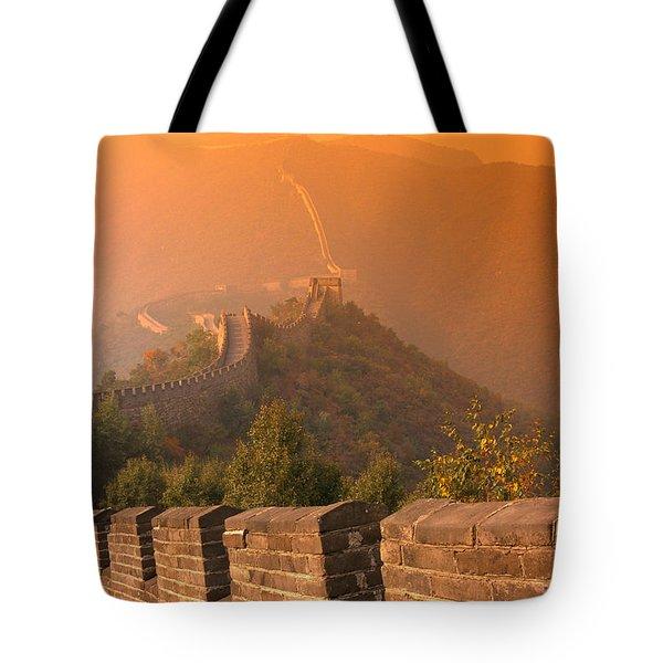 China, The Great Wall Tote Bag