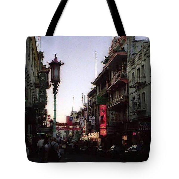 China Town San Francisco  Tote Bag