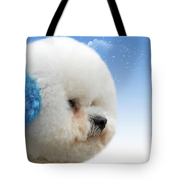 China's Latest Craze - Dyeing Pets Tote Bag by Christine Till