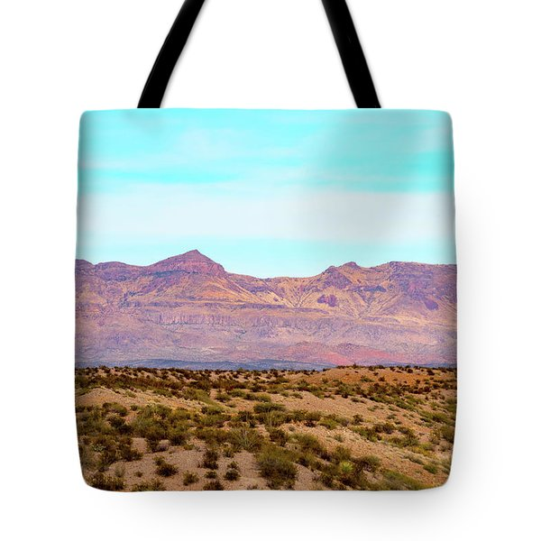 Chinati Range Tote Bag by Steven Green