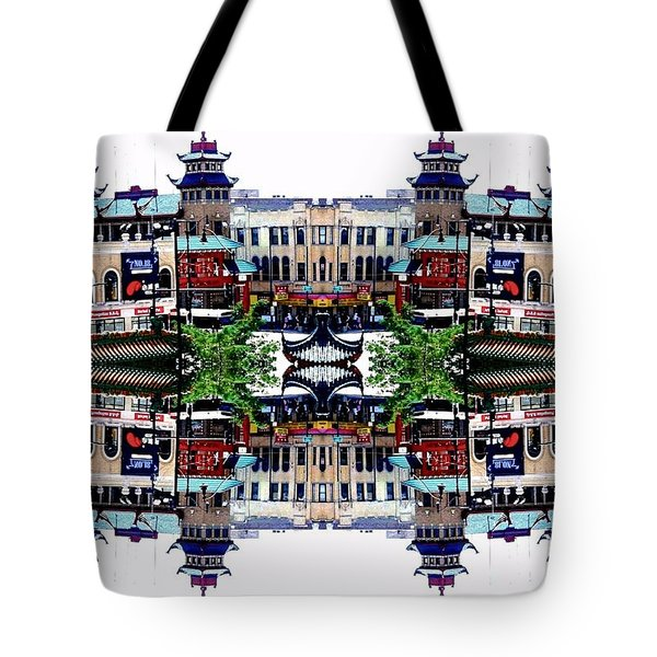 Chinatown Chicago 2 Tote Bag by Marianne Dow