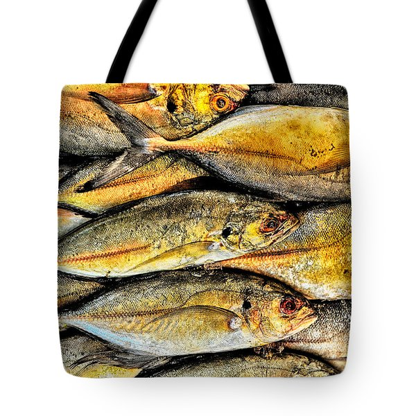 Chinatown Fish Market Nyc Tote Bag by Steve Archbold