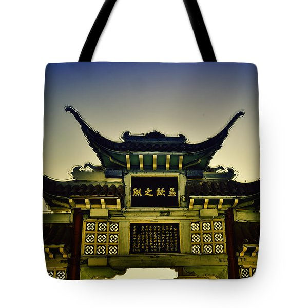 Chinatown Los Angeles Tote Bag
