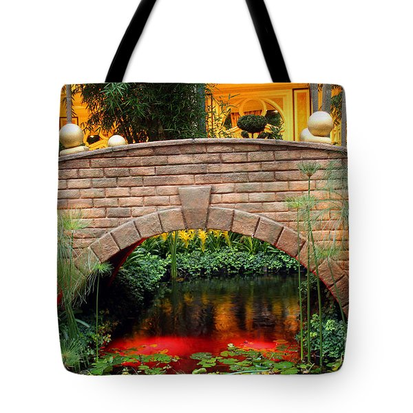 Chinese Bridge Tote Bag