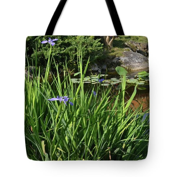 Tote Bag featuring the photograph Chinese Garden by Carol  Bradley