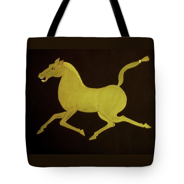 Chinese Horse Tote Bag by Stephanie Moore