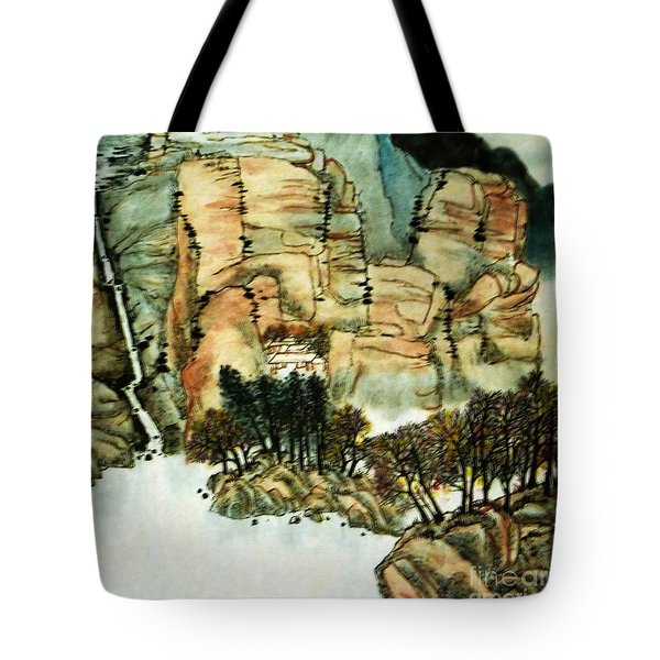 Chinese Landscape #1 Tote Bag