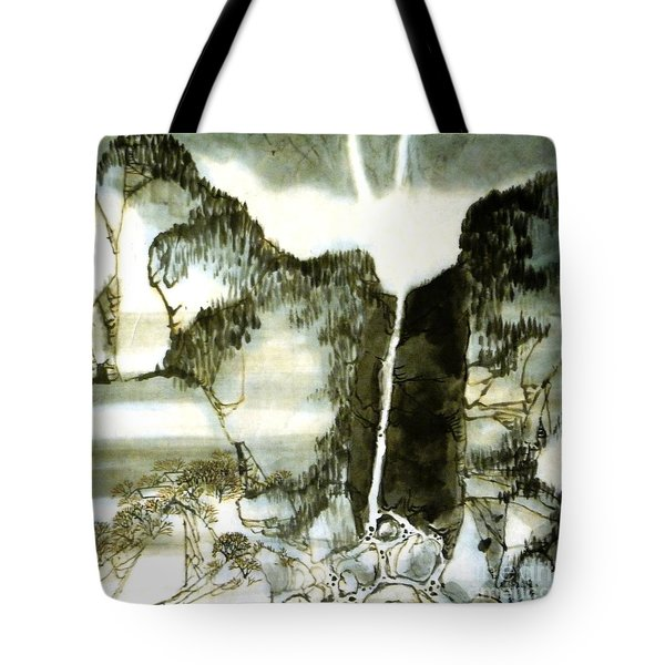 Chinese Landscape #2 Tote Bag