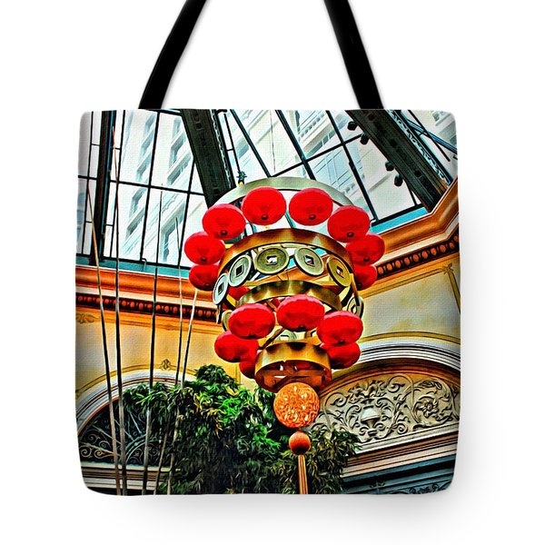 Tote Bag featuring the photograph Chinese Lantern by Beauty For God