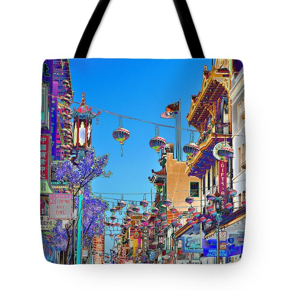Chinese Funeral Tote Bag