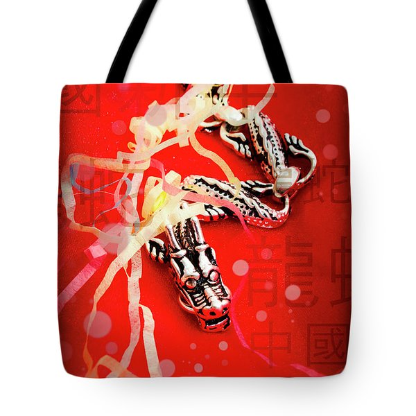 Chinese New Year Background Tote Bag