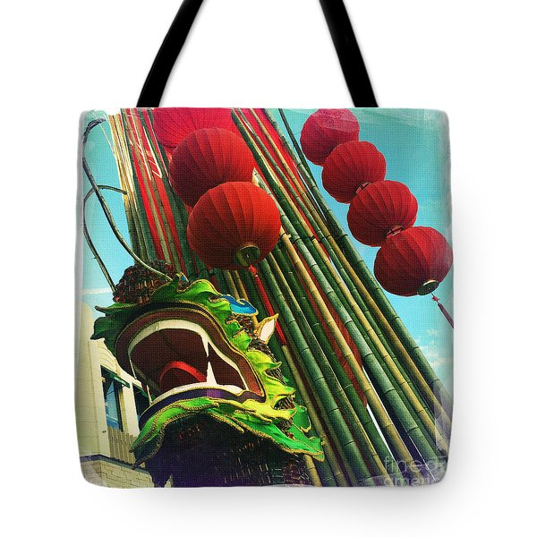 Chinese New Year Tote Bag by Nina Prommer