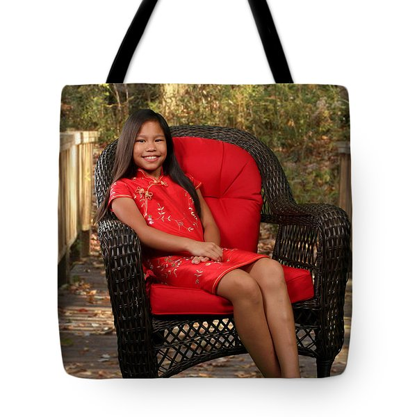 Tote Bag featuring the photograph Chinese Princess by Robert Hebert