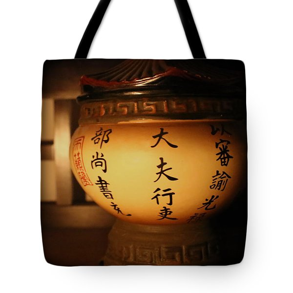 Chinese Vase Tote Bag