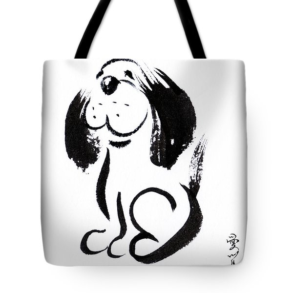 Chinese Zodiac For Year Of The Dog Tote Bag
