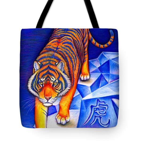 Chinese Zodiac - Year Of The Tiger Tote Bag