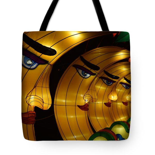 Chinese Moons Tote Bag
