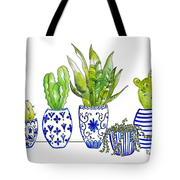 Chinoiserie Collected Tote Bag