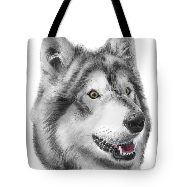 Tote Bag featuring the drawing Chinook by Peter Piatt