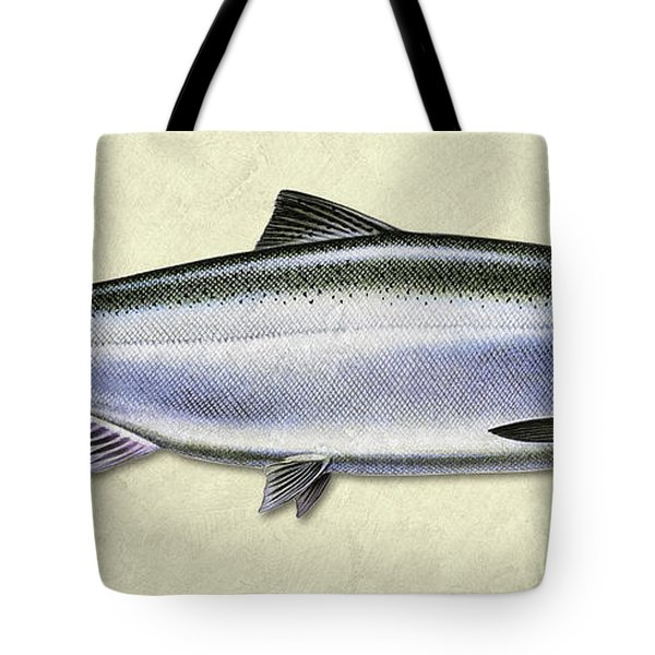 Chinook Salmon Id Tote Bag