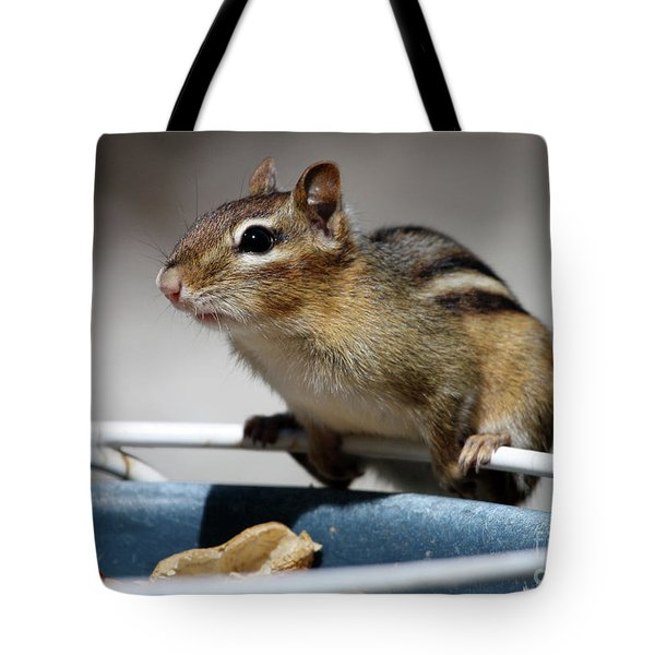 Chippy Tote Bag by Karol Livote