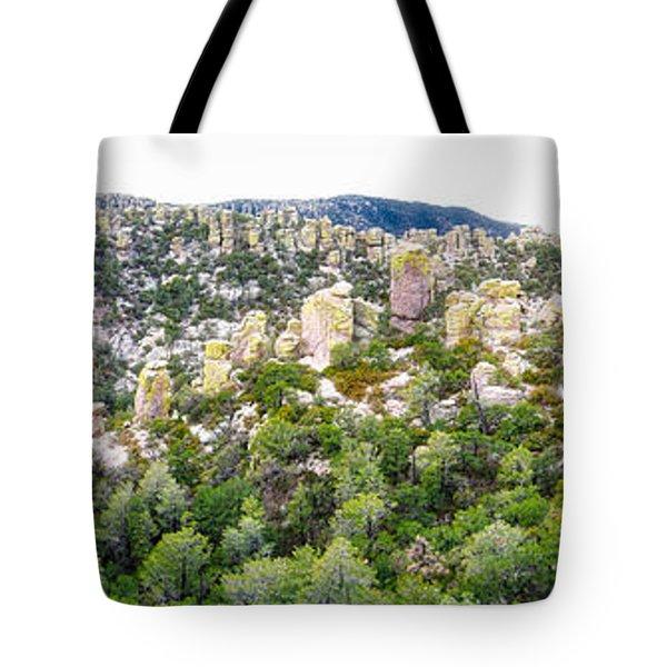Chiricahua Mountains Tote Bag