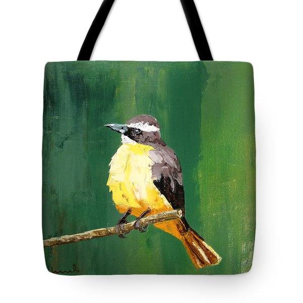 Chirping Charlie Tote Bag
